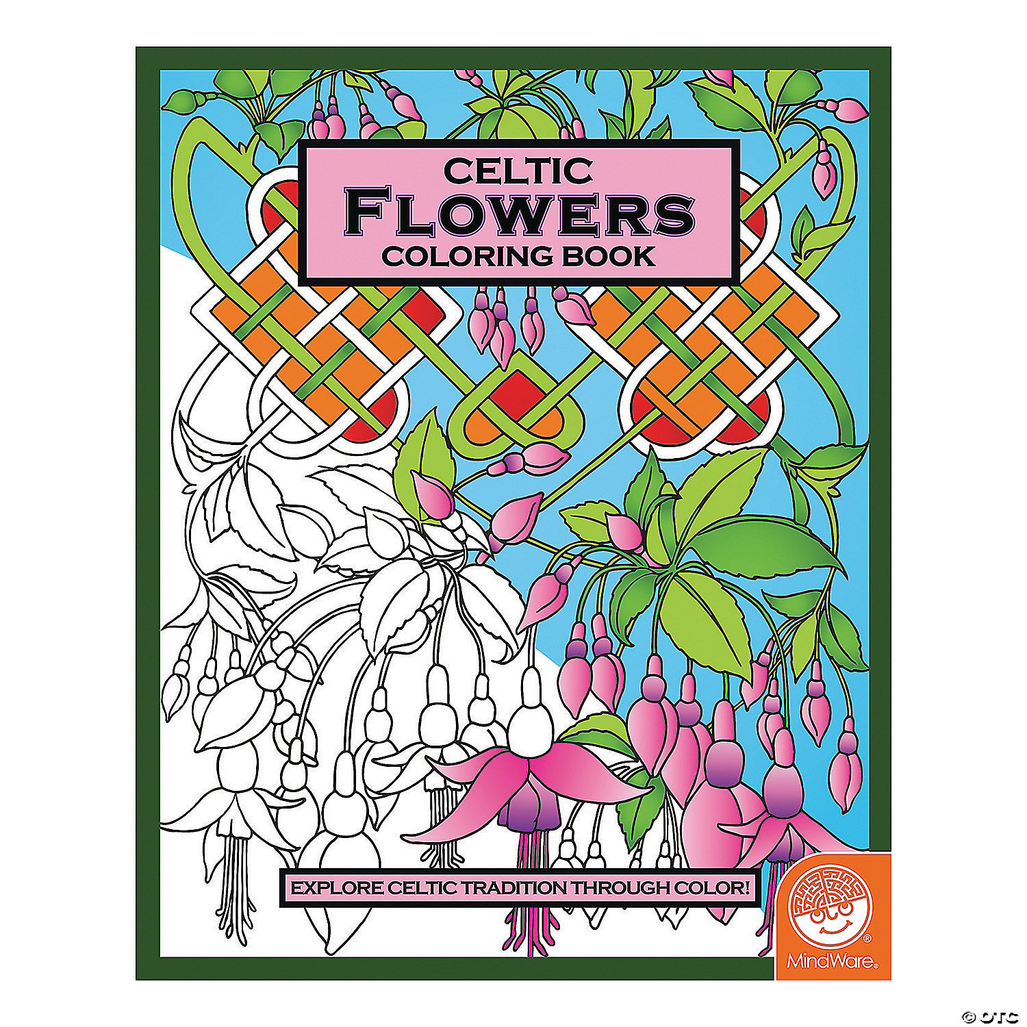 celtic flowers coloring book - Celtic Coloring Book