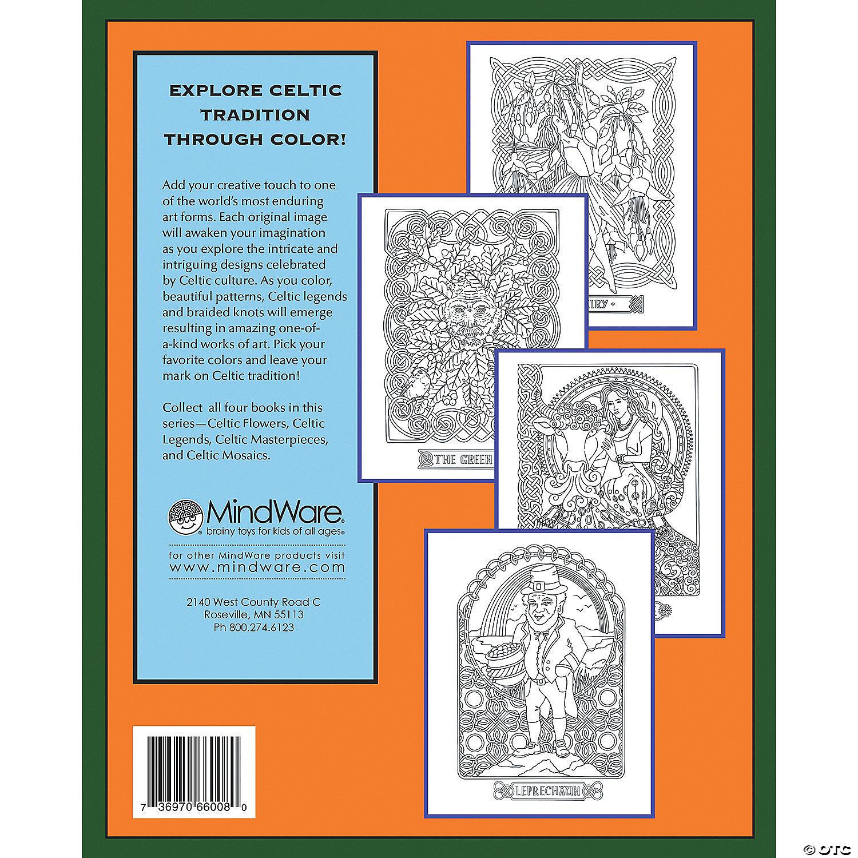 Celtic Legends Coloring Book