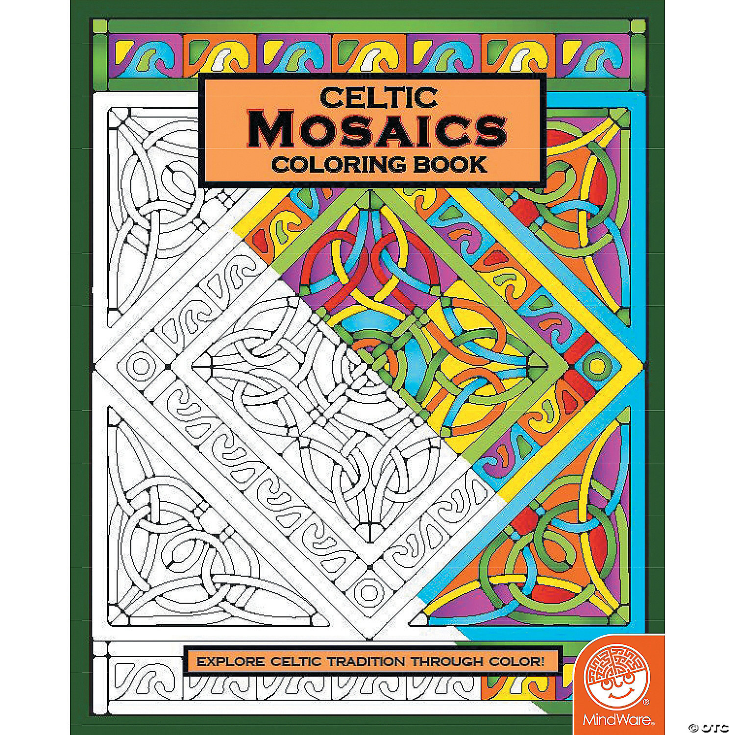 celtic mosaics coloring book - Mosaic Coloring Book