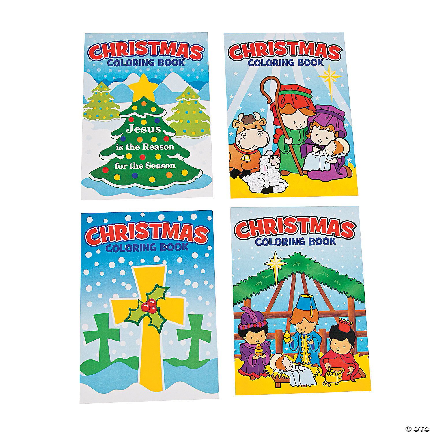 christmas religious coloring books - Religious Coloring Books