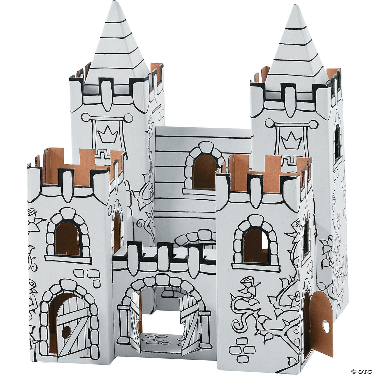 Color-A-Castle Playset: Princess Castle - Oriental Trading ...