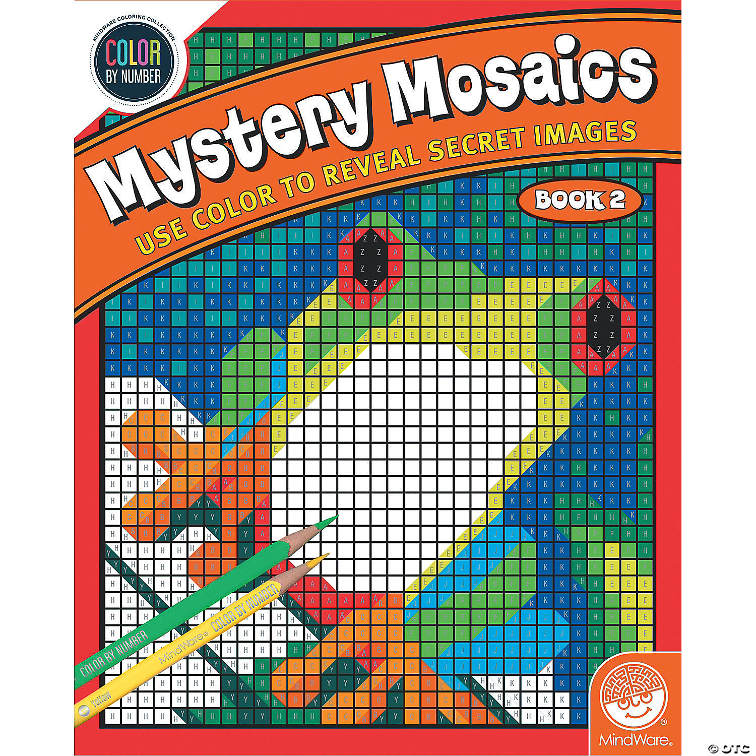image of color by number mystery mosaics book 2 with sku13774496 - Color Book 2