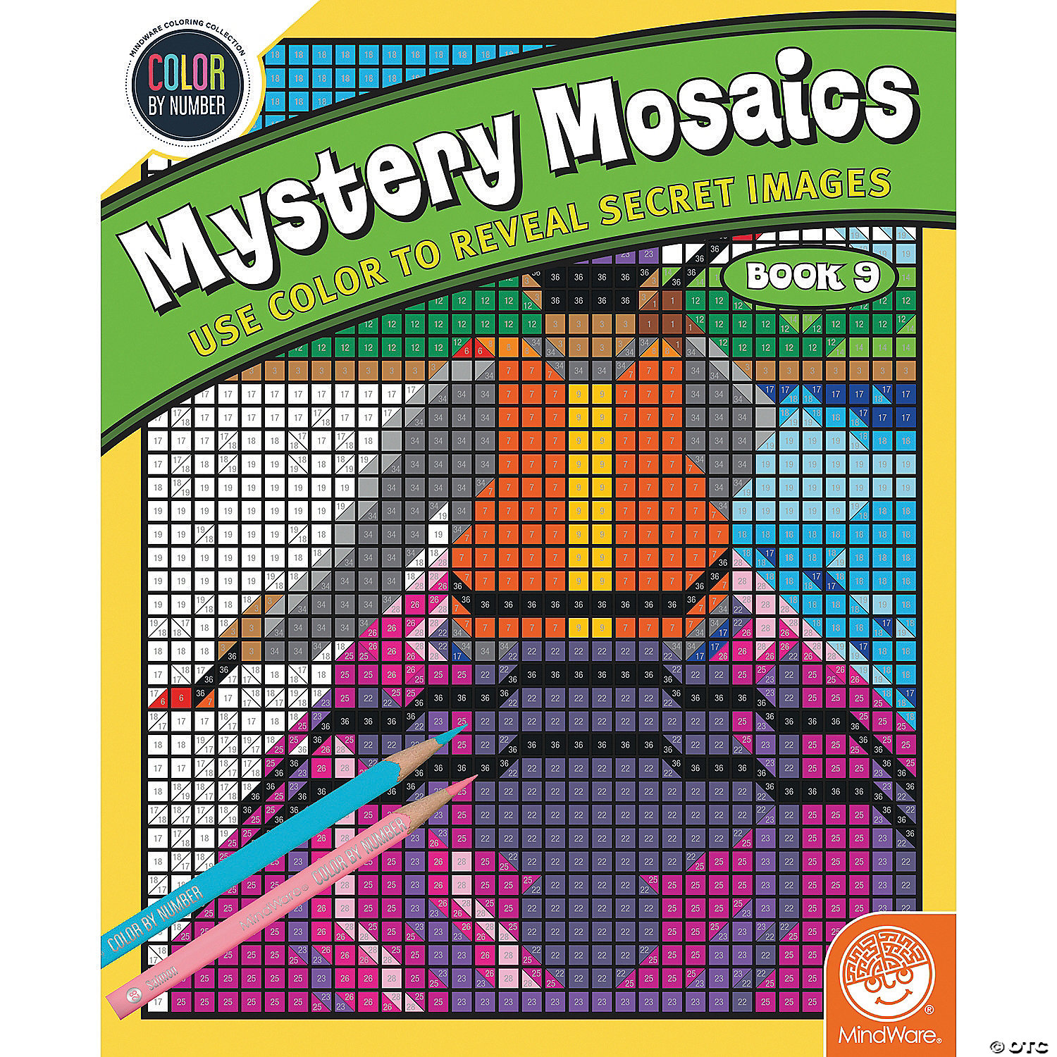 Color By Number Mystery Mosaics Book 9