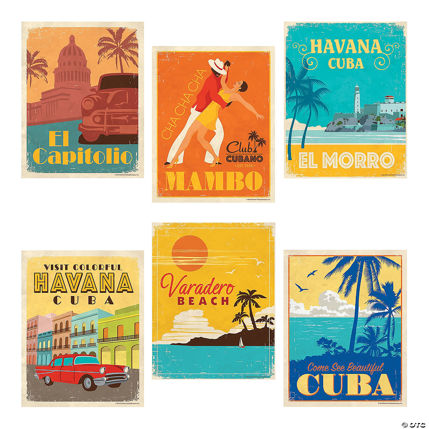 Cuban Party Posters - Discontinued