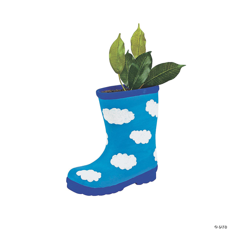 Diy ceramic boot planters solutioingenieria Choice Image