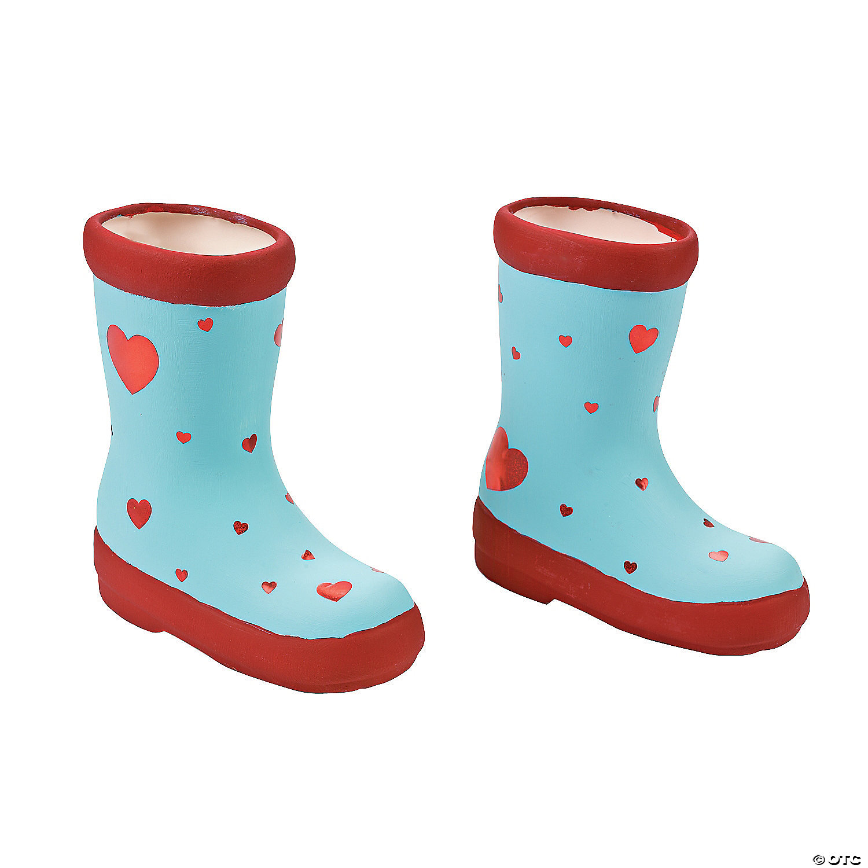 Diy ceramic boot planters solutioingenieria Images