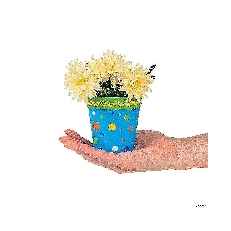 Diy Ceramic Mini Flowerpots