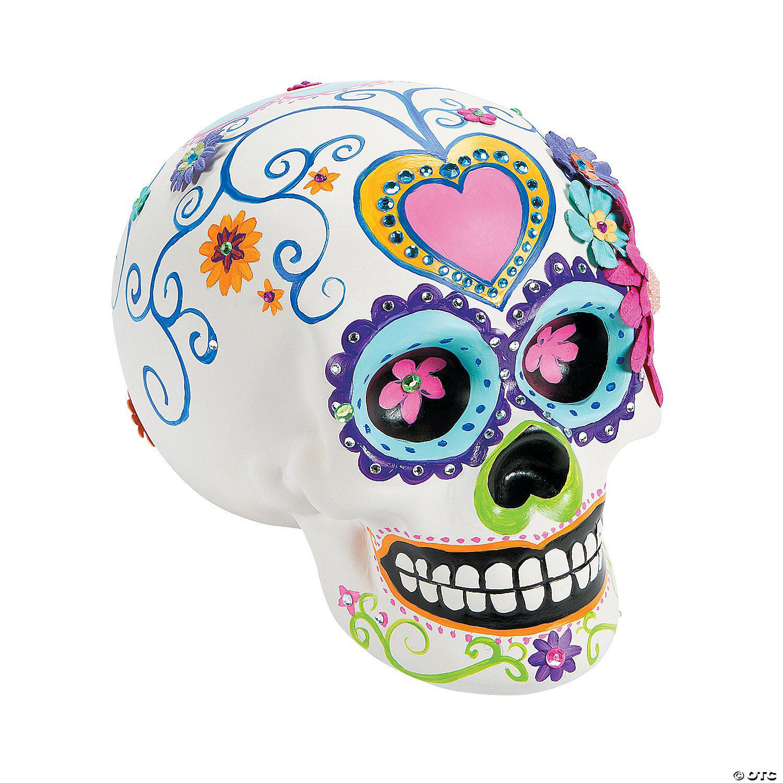 DIY Ceramic Skull