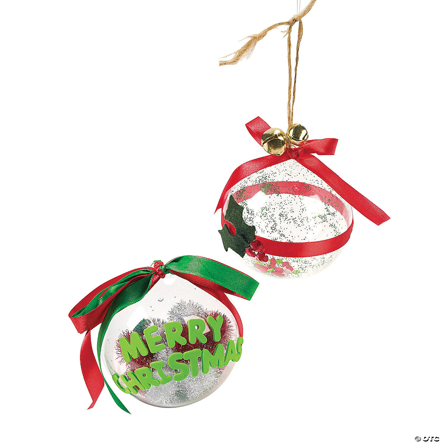 Large xmas ornaments - Diy Large Clear Christmas Ornaments
