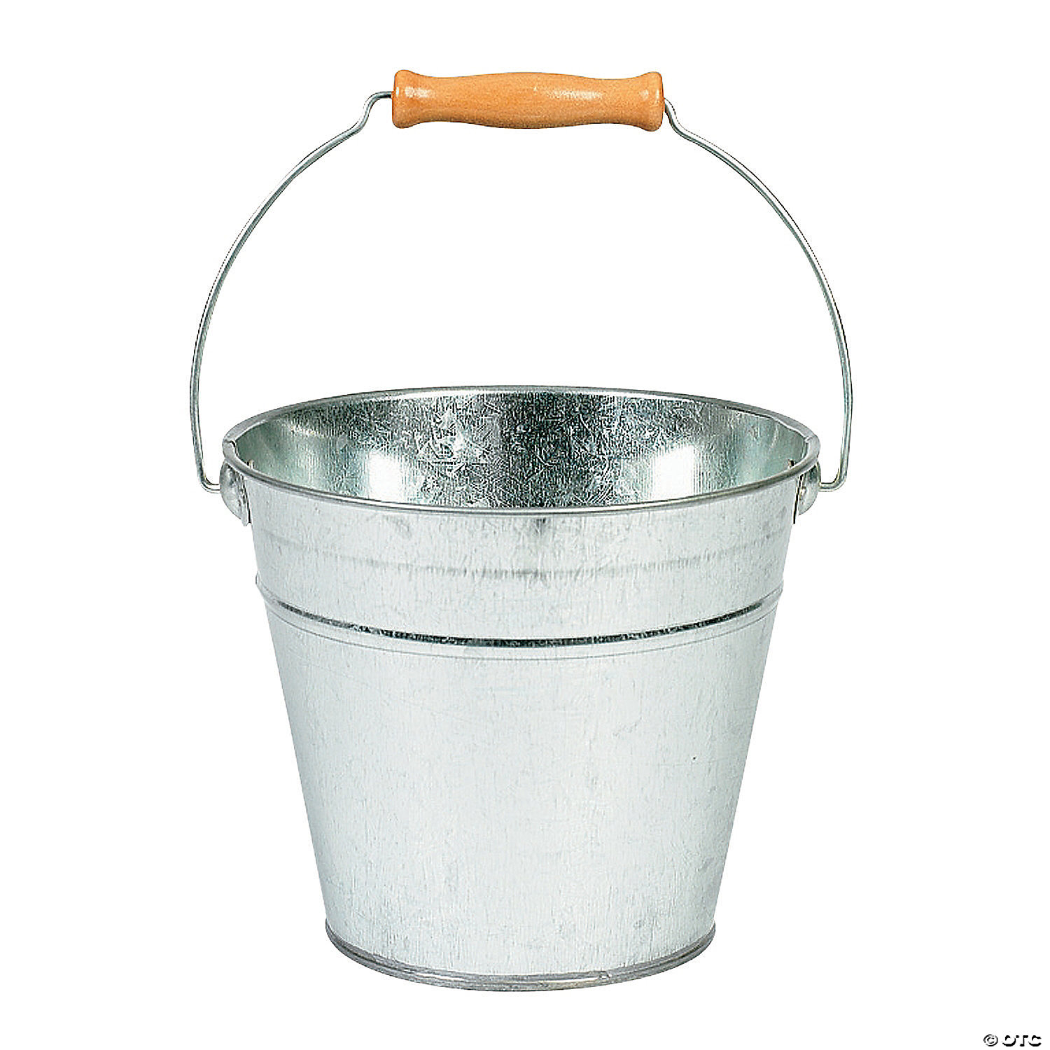 quickview  image of DIY Large Silver Tin Pail with sku:65/90117