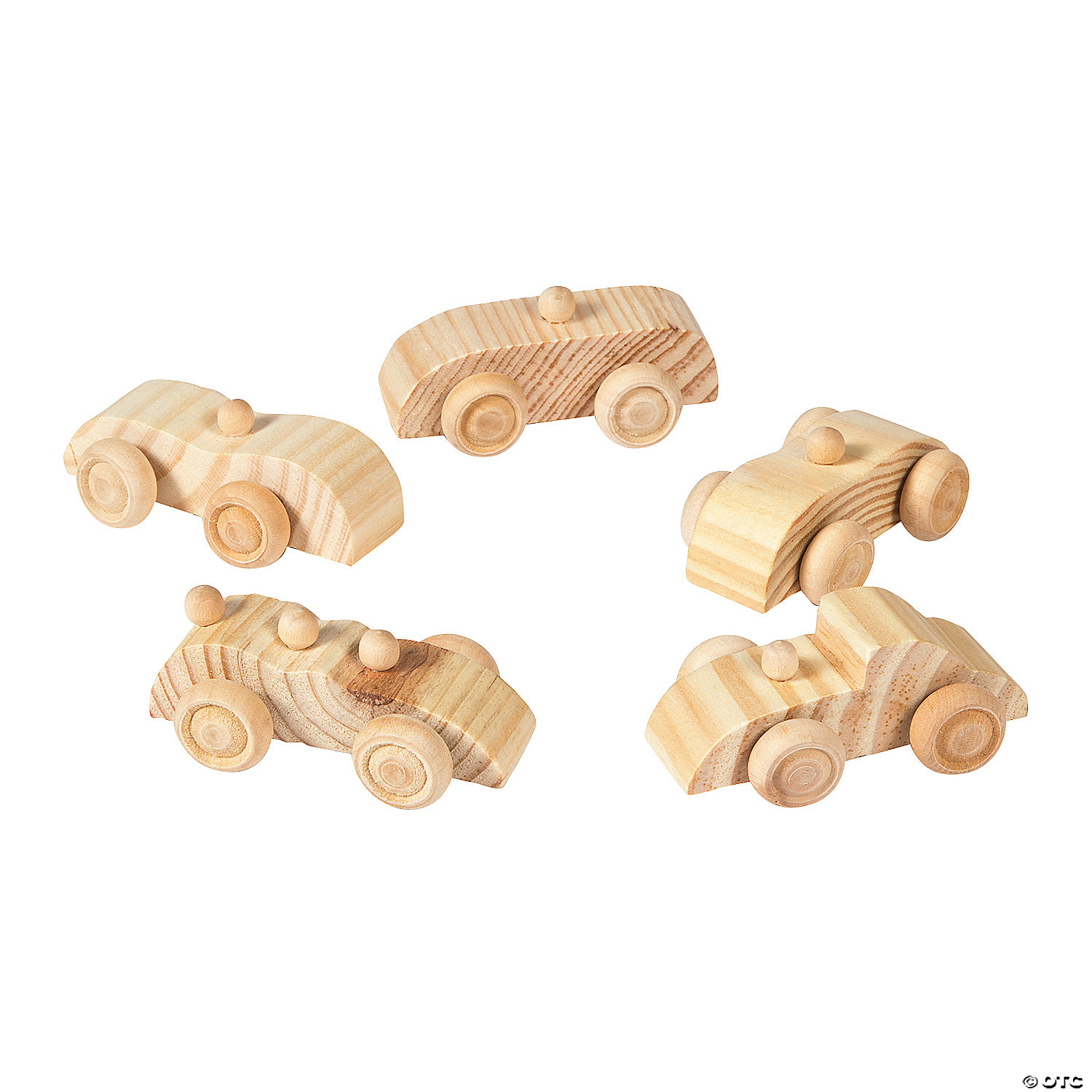Co color in cars activity - Diy Unfinished Wood Cars