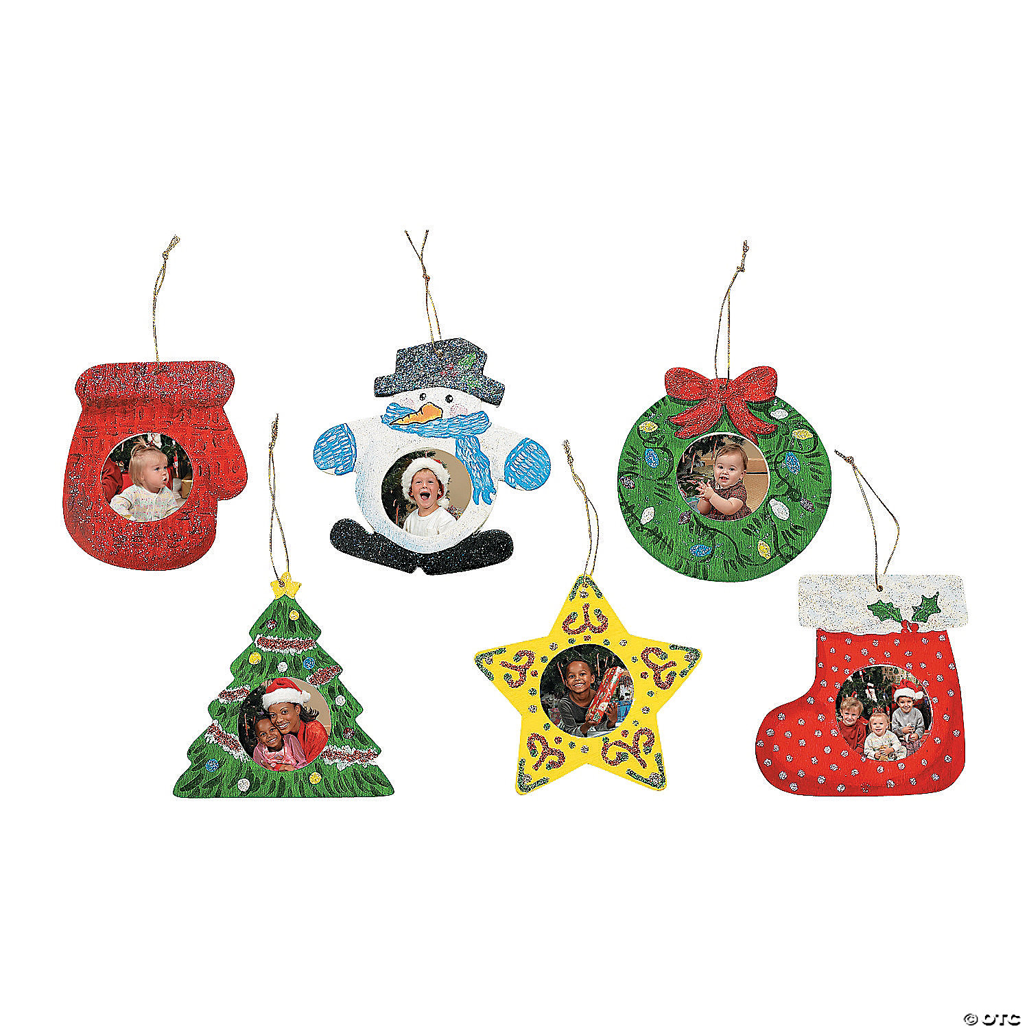 Picture frame christmas ornaments - Picture Frame Christmas Ornaments 2