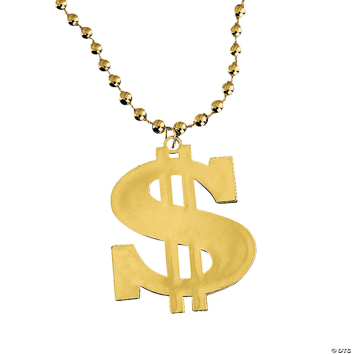Dollar Sign Bead Necklaces