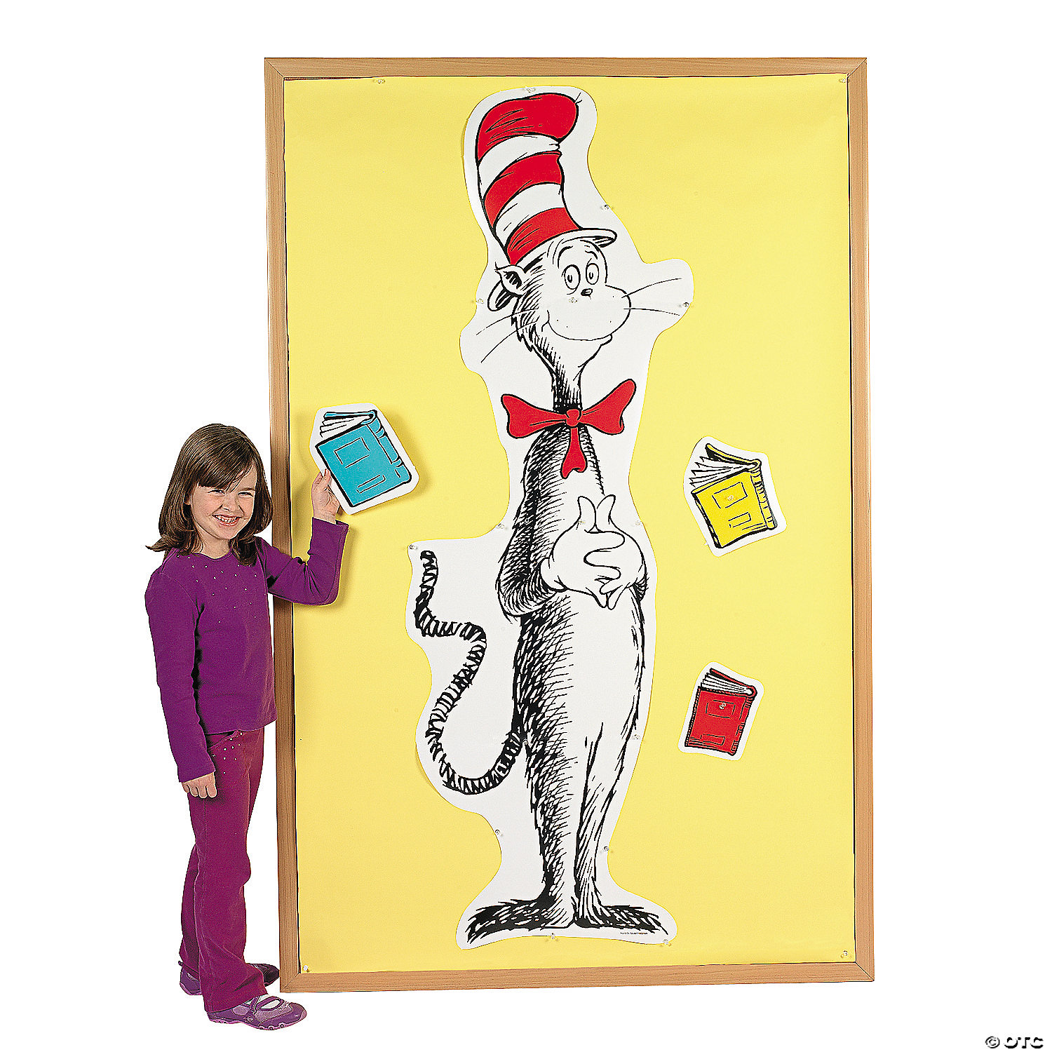 Dr. Seuss™ Giant Cat in the Hat™ Bulletin Board Set