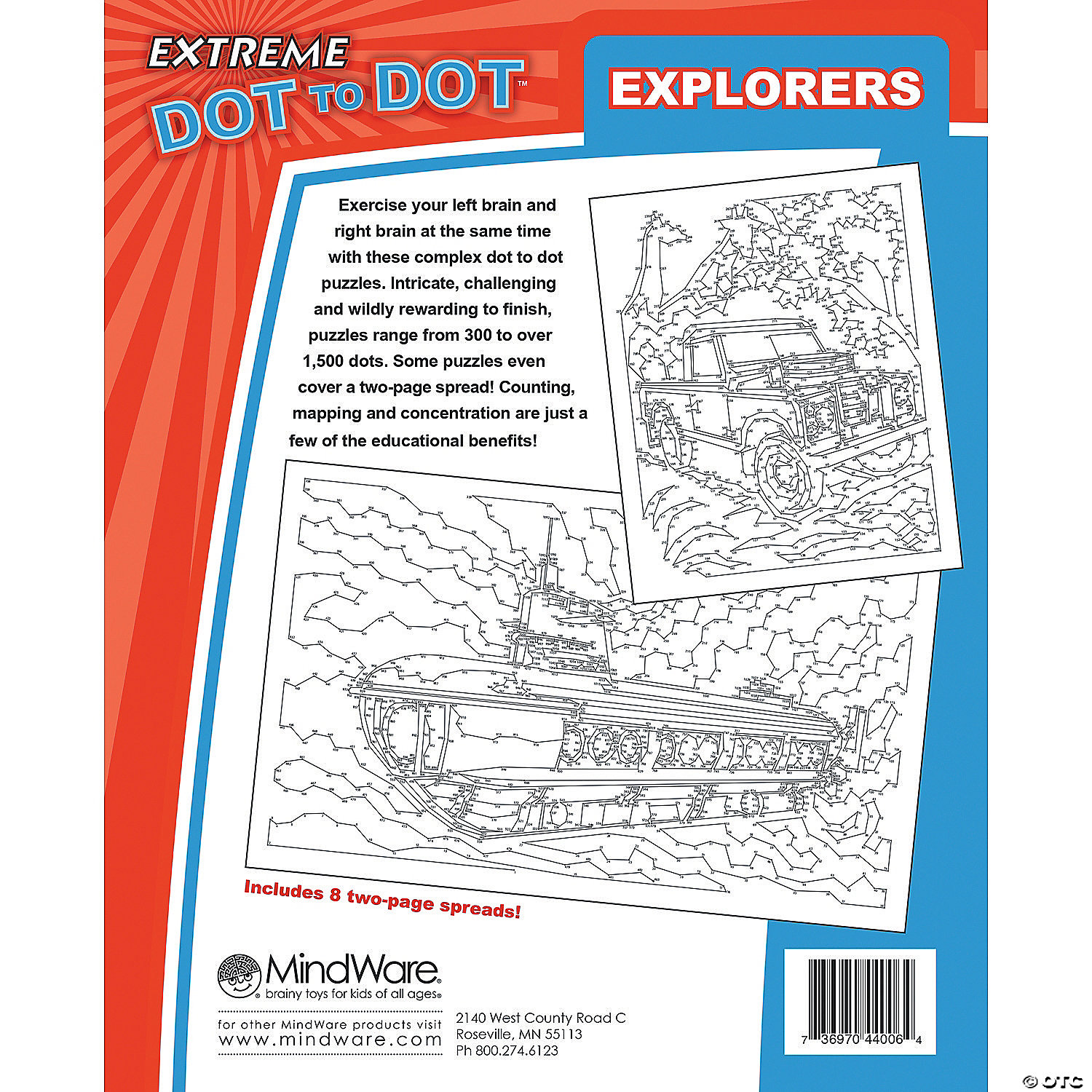 extreme dot to dot explorers