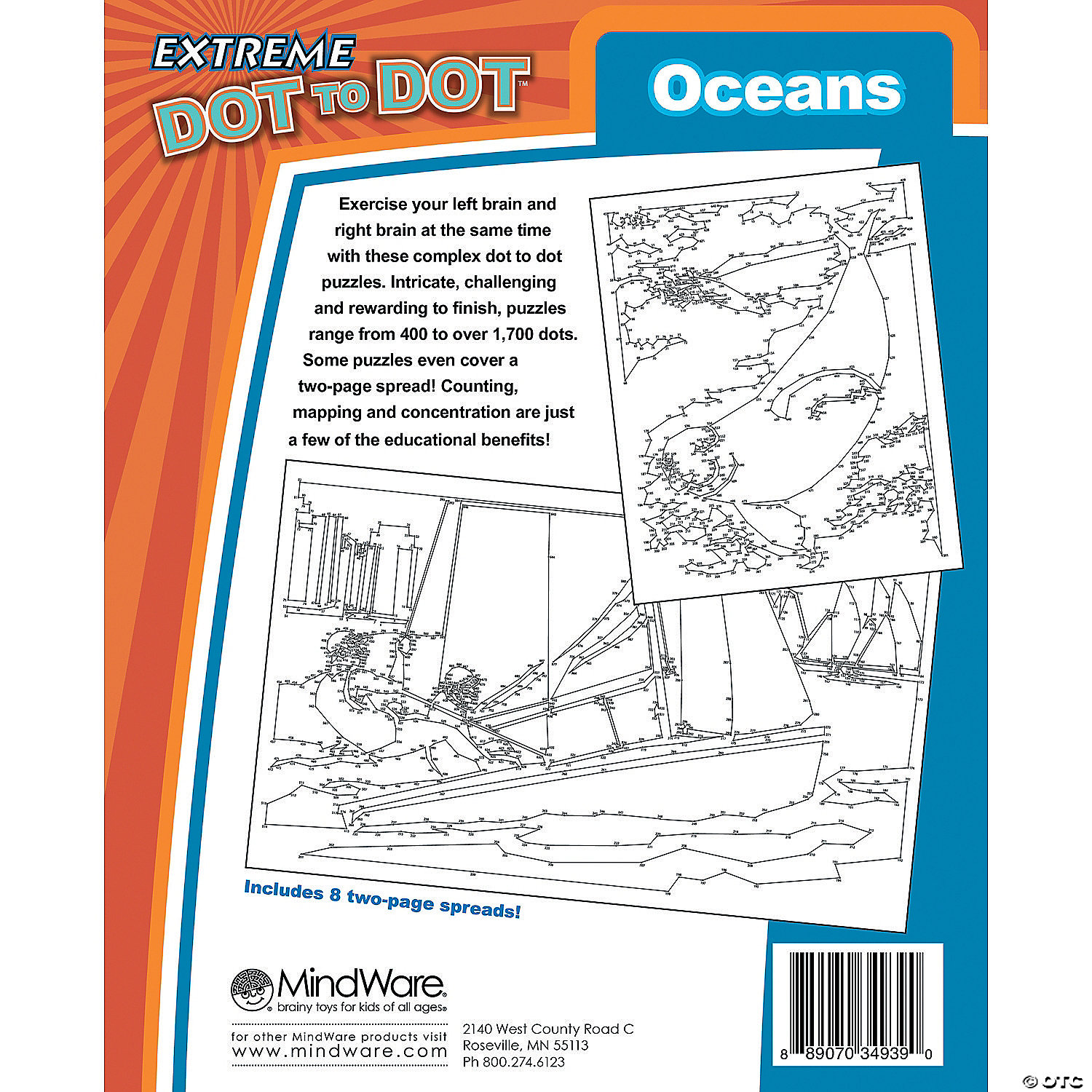 extreme dot to dot oceans