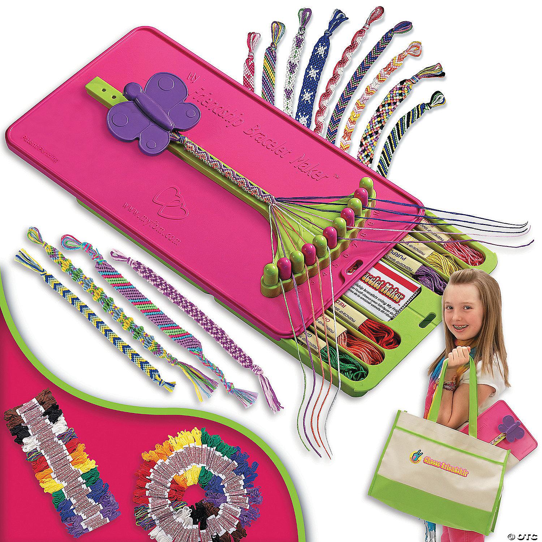 Traveller Dmc My Friendship Bracelet Maker Kit Craft Storage Box