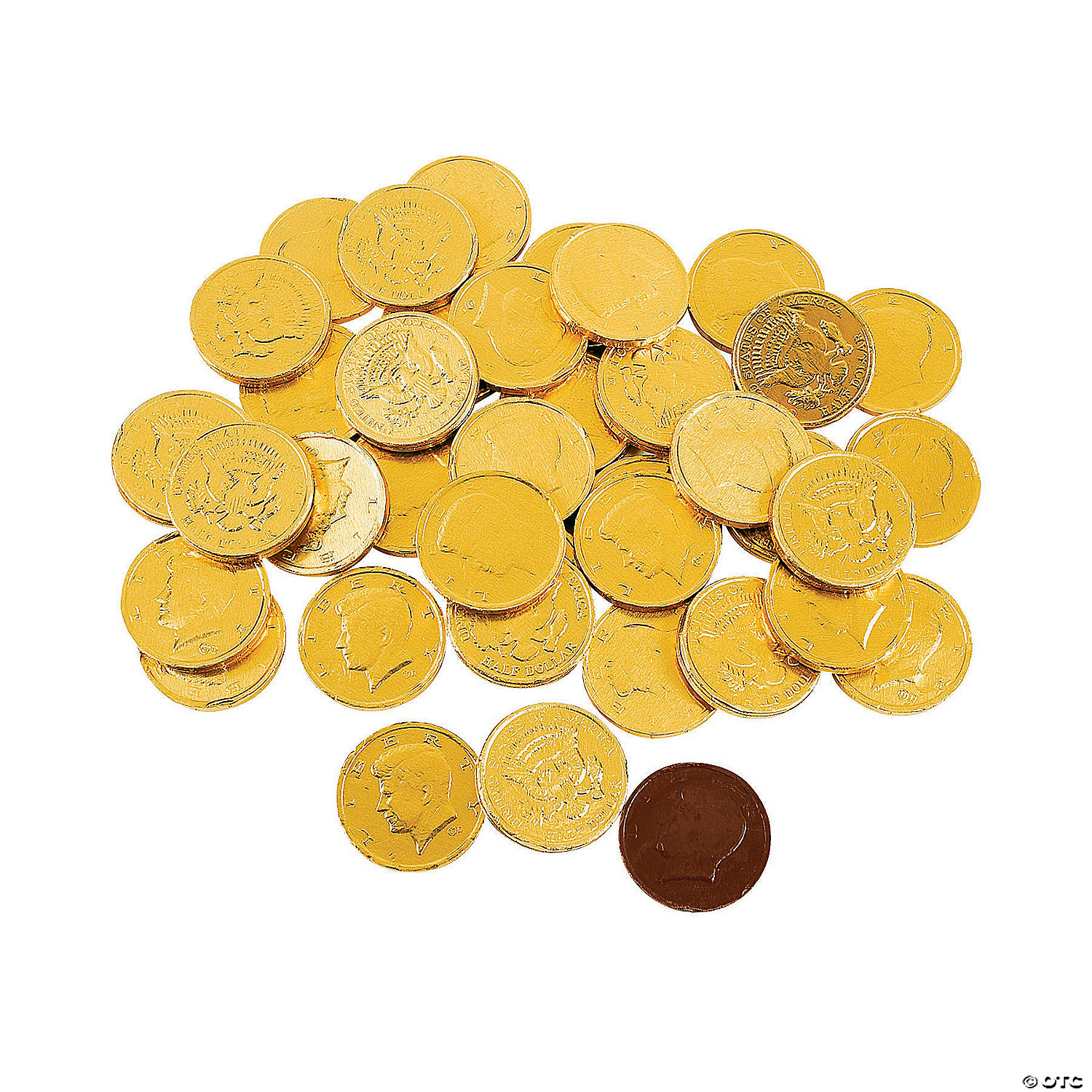 Gold Coins Chocolate Candy - Oriental Trading