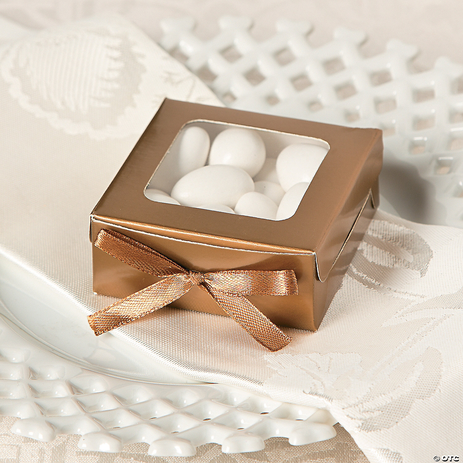 Gold Favor Shadow Boxes