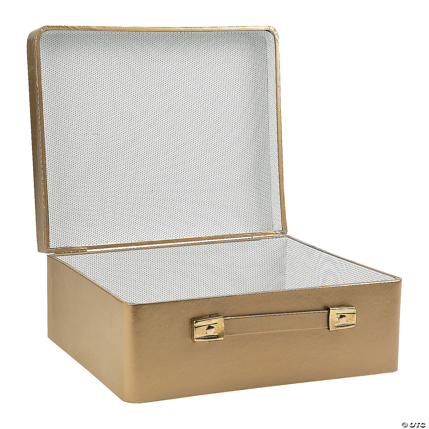 Gold Mini Suitcase Centerpiece