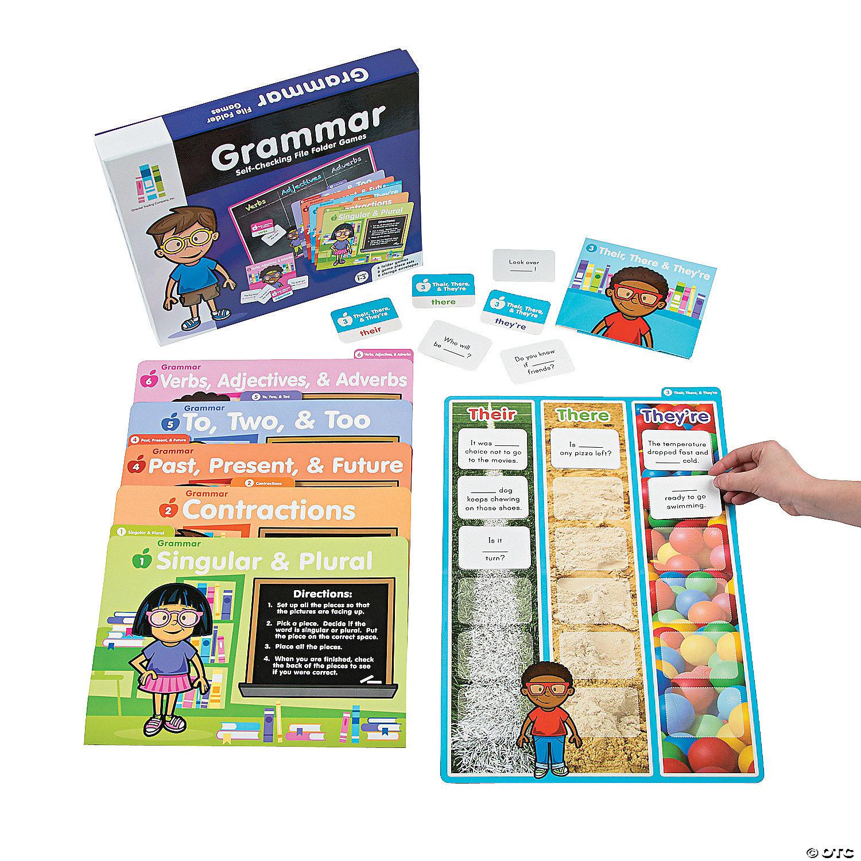 Grammar Folder Games