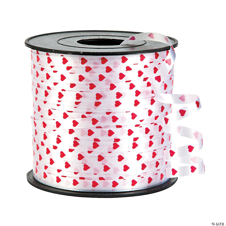 Heart Curling Ribbon