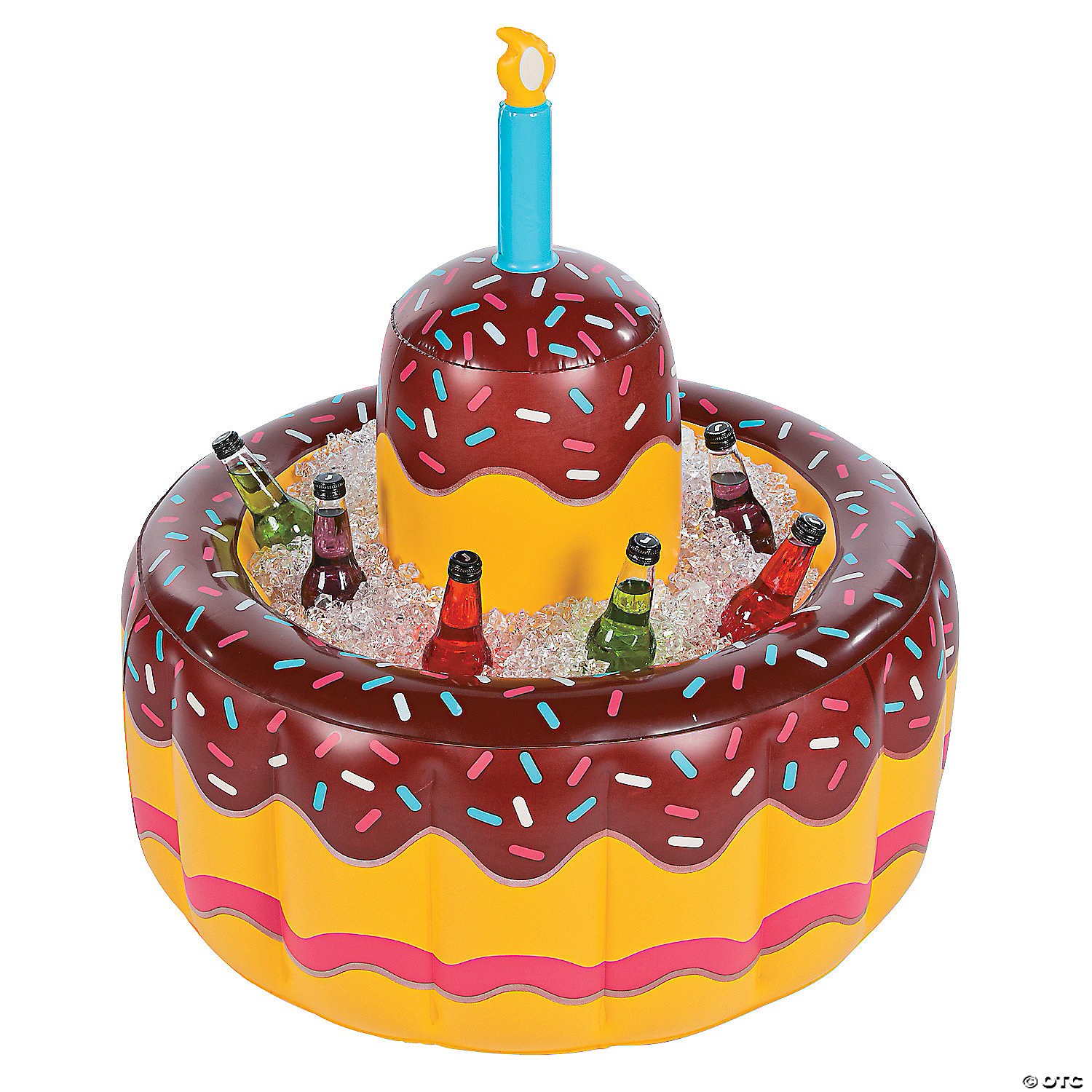 Inflatable Birthday Cake Cooler - Discontinued