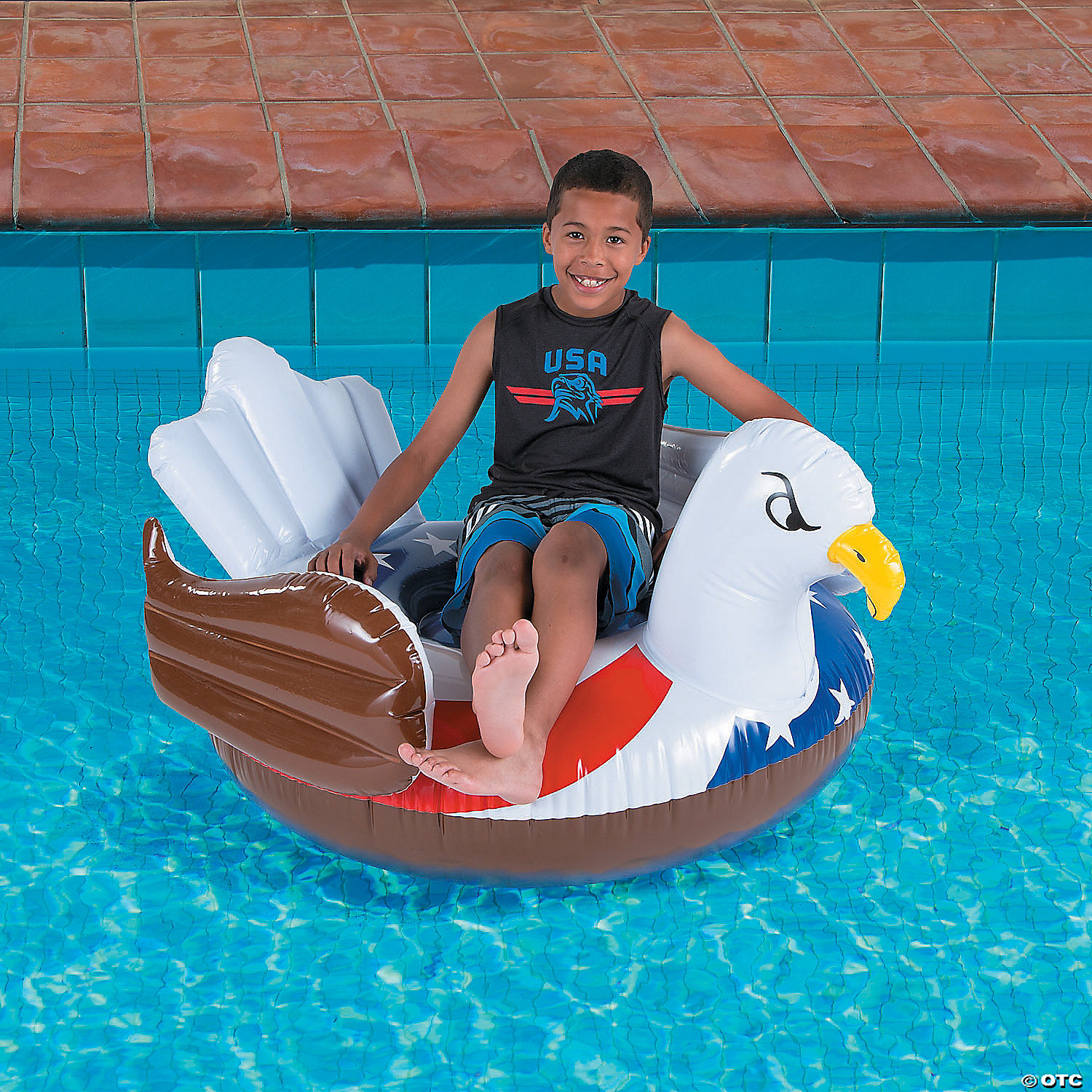 Inflatable Giant Eagle Pool Float