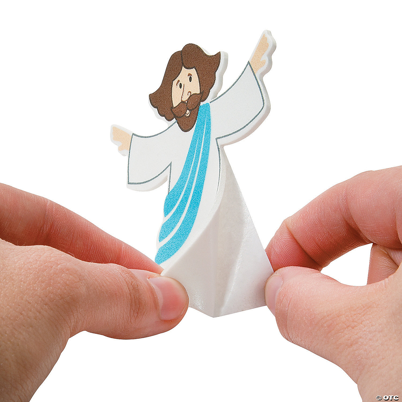 jesus is risen pop up craft kit oriental trading