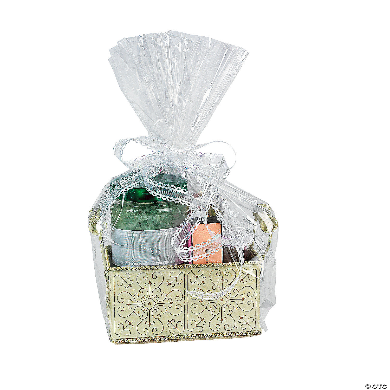 Large Clear Cellophane Gift Basket Bags