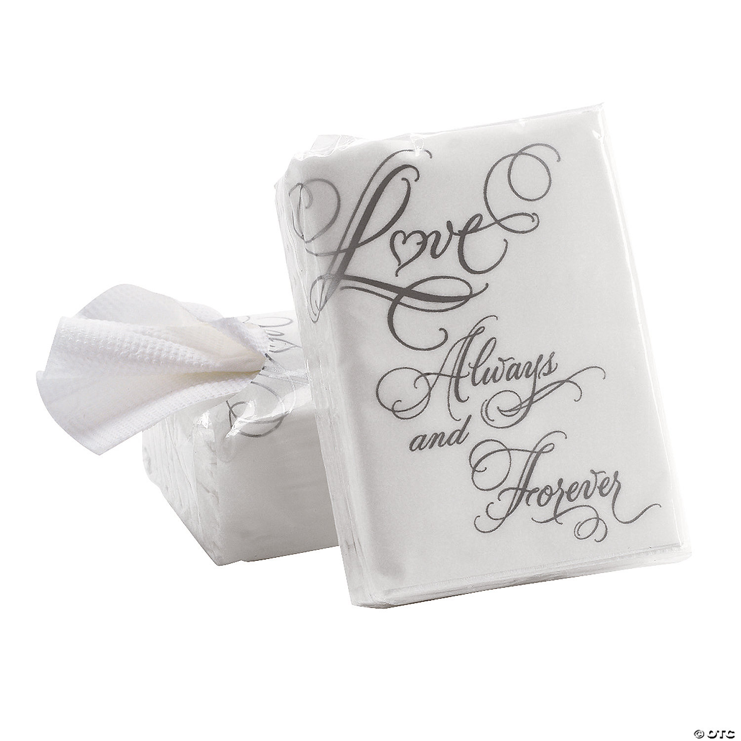 Love Wedding Facial Tissue Pocket Packs