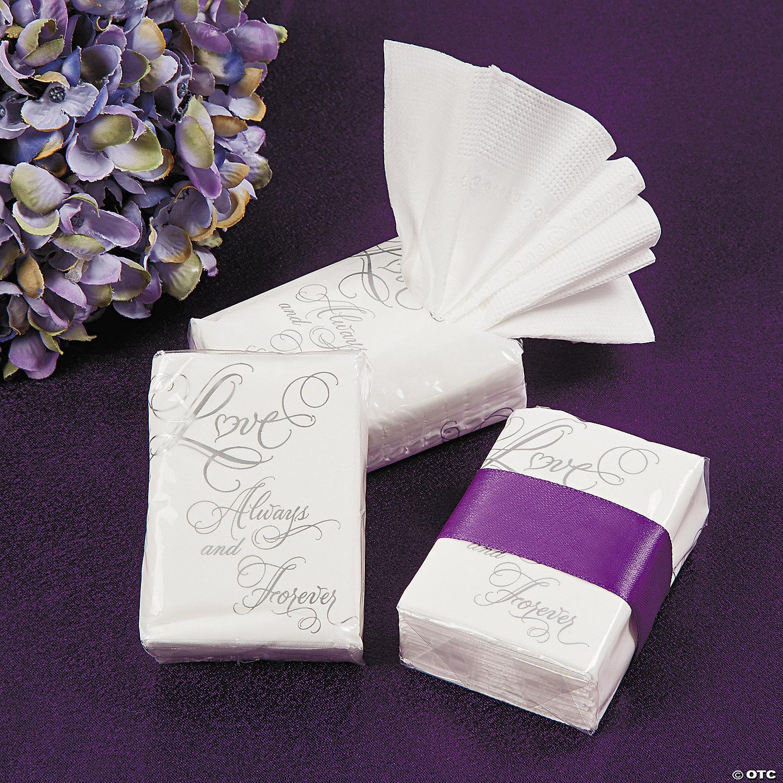 Love Wedding Facial Tissue Pocket Packs