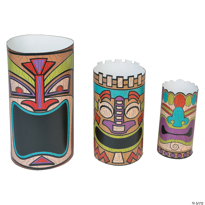 Luau Tiki Centerpieces