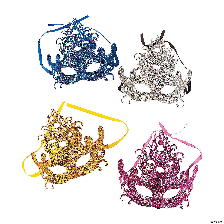 Mardi Gras Masquerade Masks | Oriental Trading Company