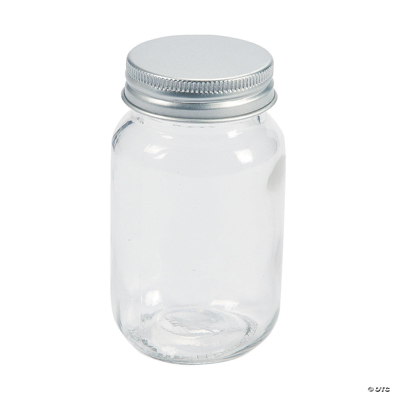 Round Favor Jars