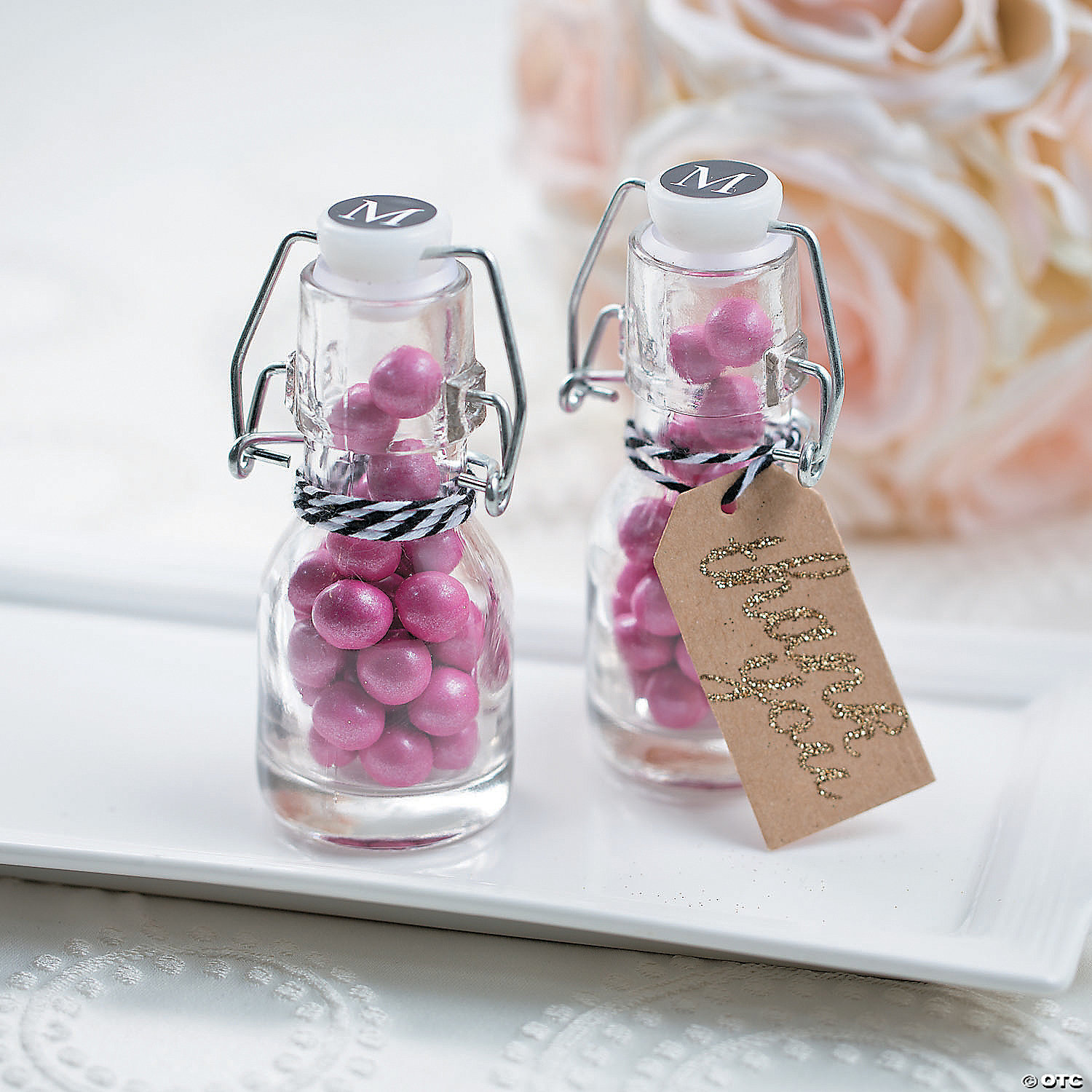 Milk Bottle Wedding Favors | Giftwedding.co