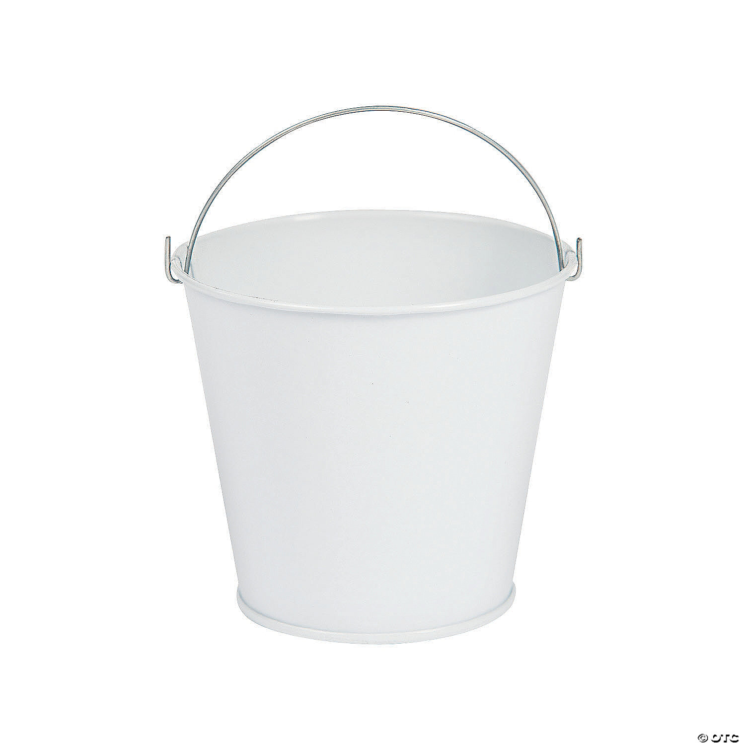 quickview  image of Mini White Favor Pails with sku:52/43