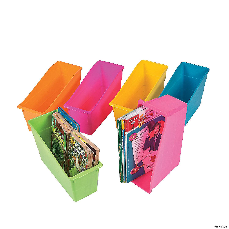 Beau Neon Classroom Book Organizers