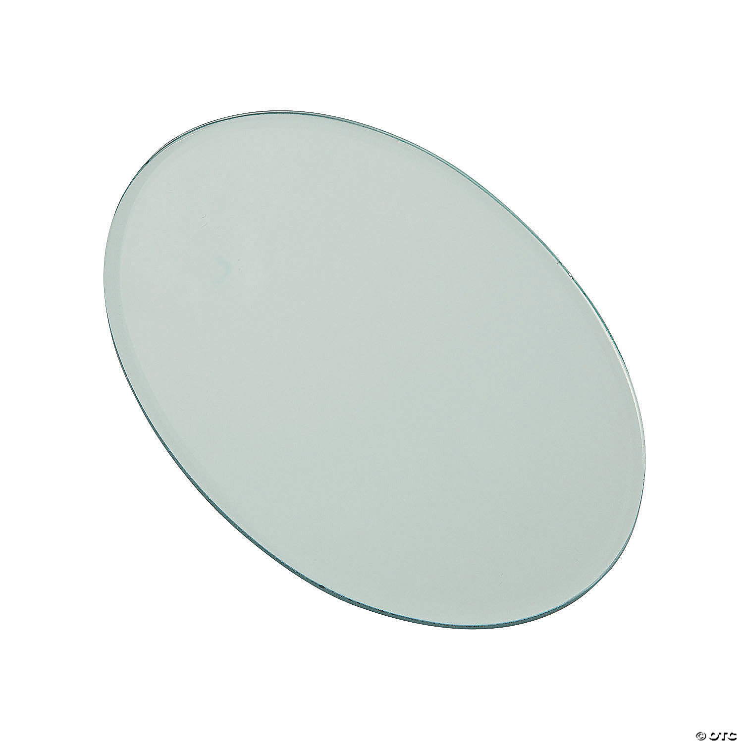 Oval Mirror Table Decorations