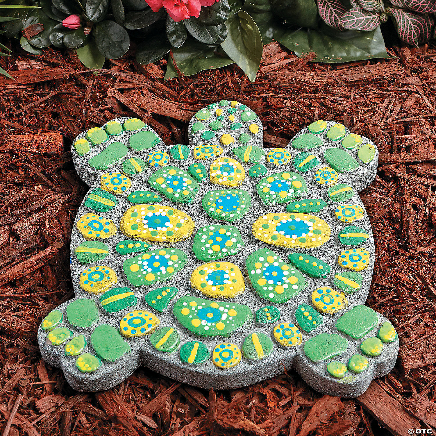 Paint your own stepping stone turtle pronofoot35fo Images