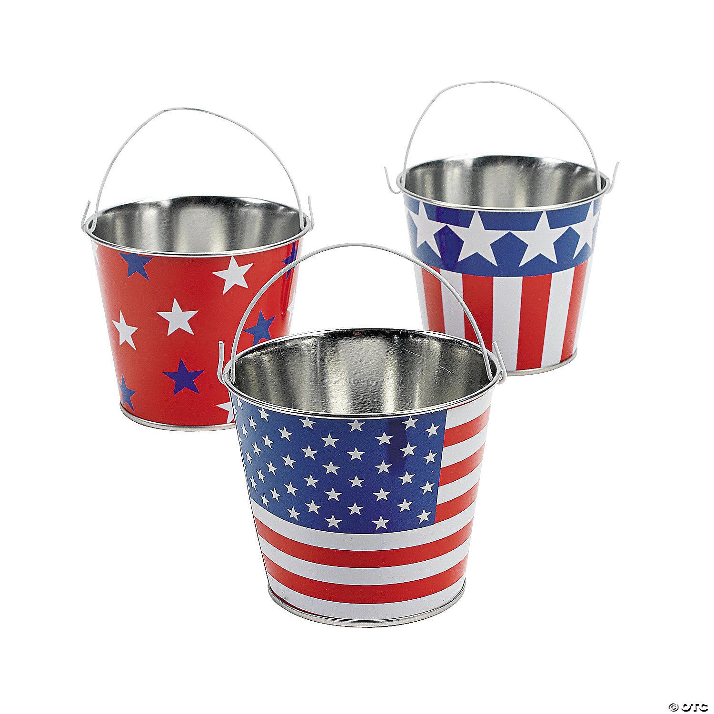 patriotic pails