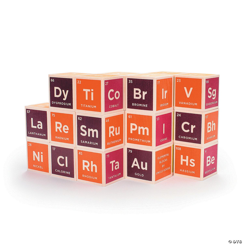 Periodic table blocks oriental trading discontinued periodic table blocks gamestrikefo Images