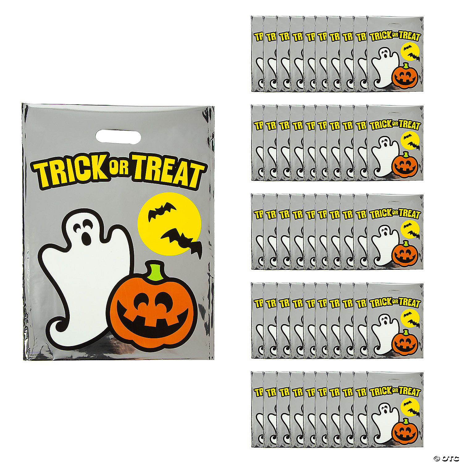 Halloween Bags trick or treat bags for halloween kids craft its overflowing Reflective Halloween Bags