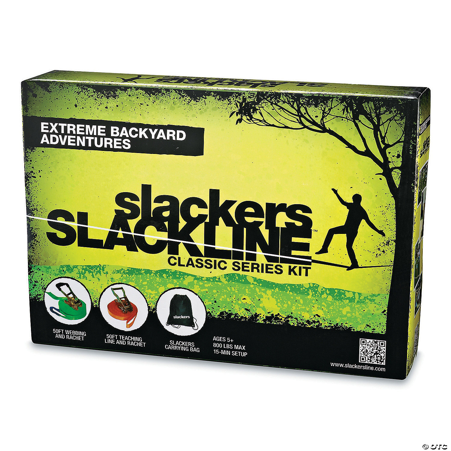 slackline double line set