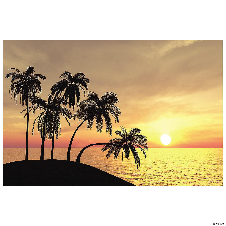Hawaiian Luau & Tropical Backdrops & Scene Setters   Oriental ...