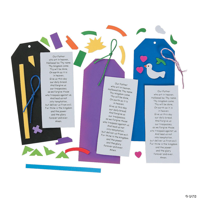 the lord u0027s prayer u201d bookmark craft kit
