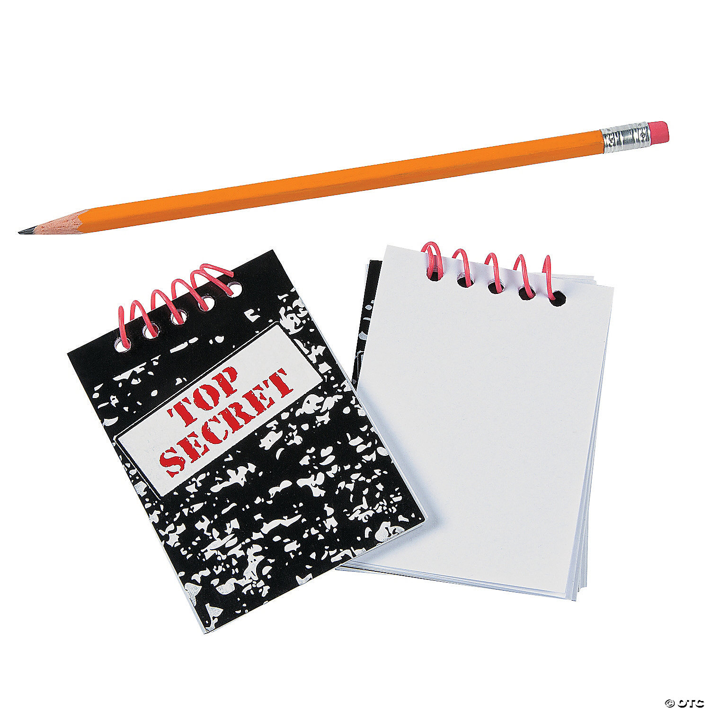 Top Secret Spiral Notebooks