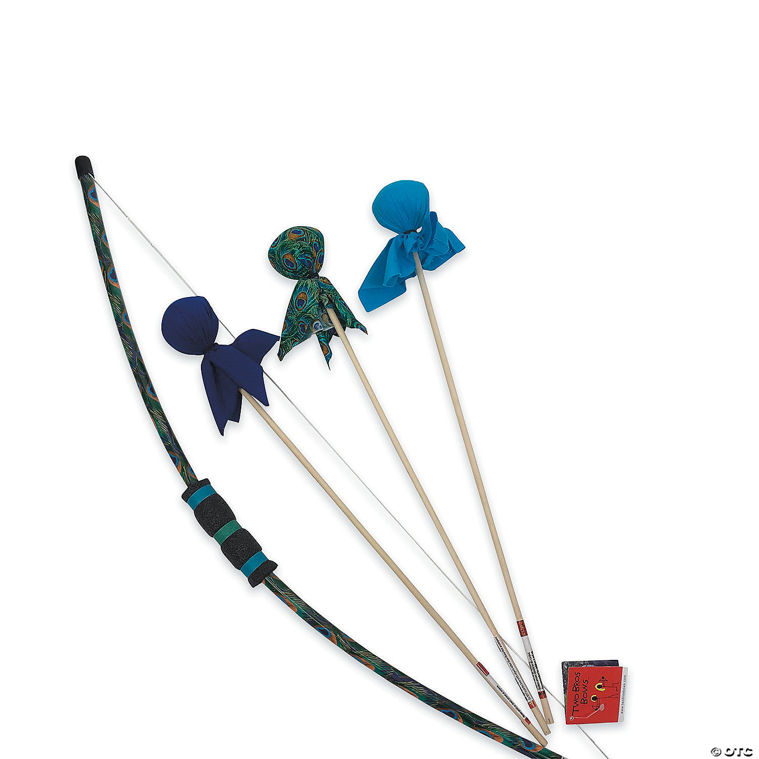 two bros bows exclusive archery set peacock oriental trading