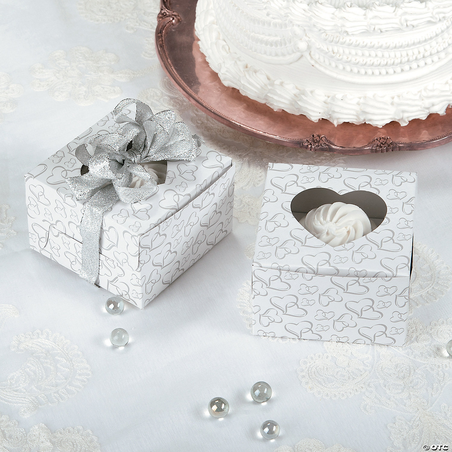 Two Hearts Cupcake Boxes - Discontinued