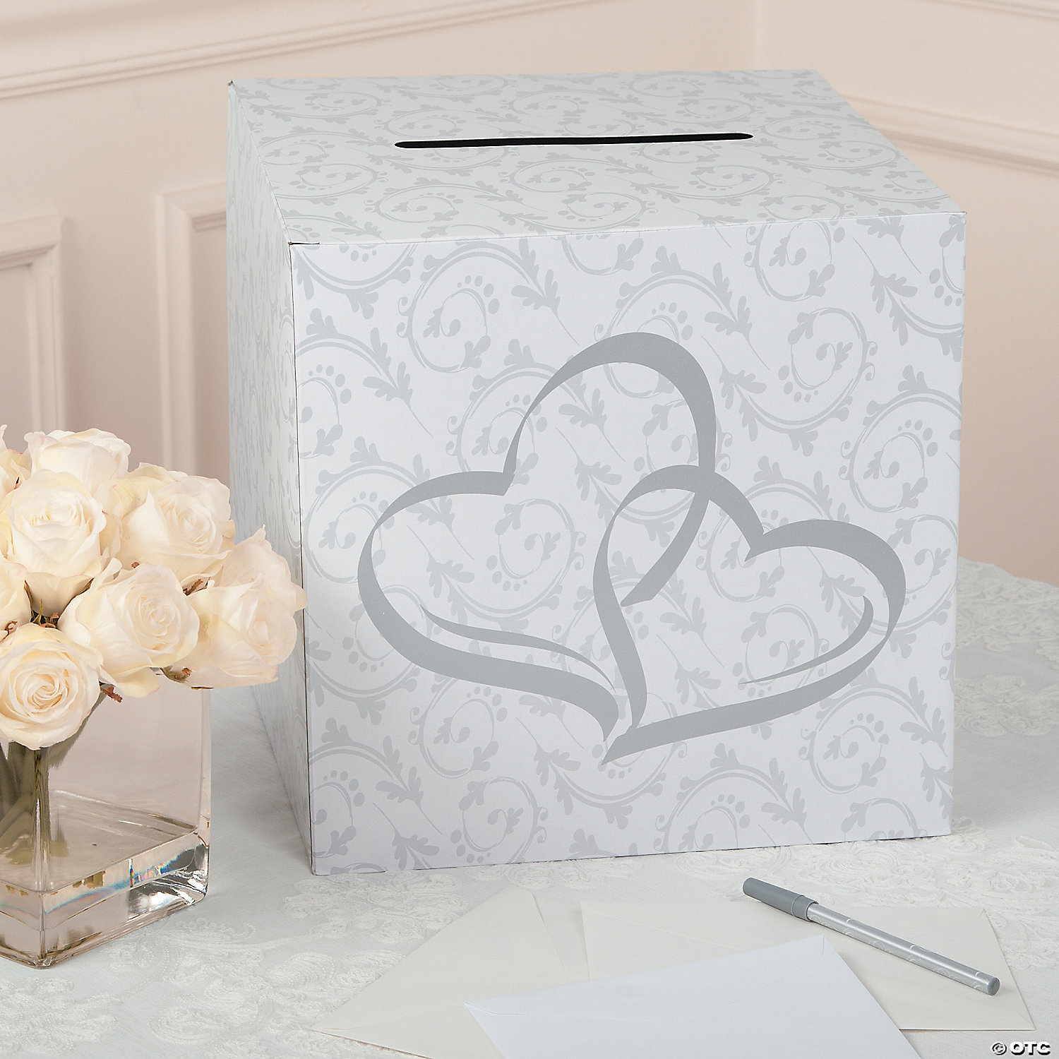 Two Hearts Wedding Card Box Oriental Trading Discontinued
